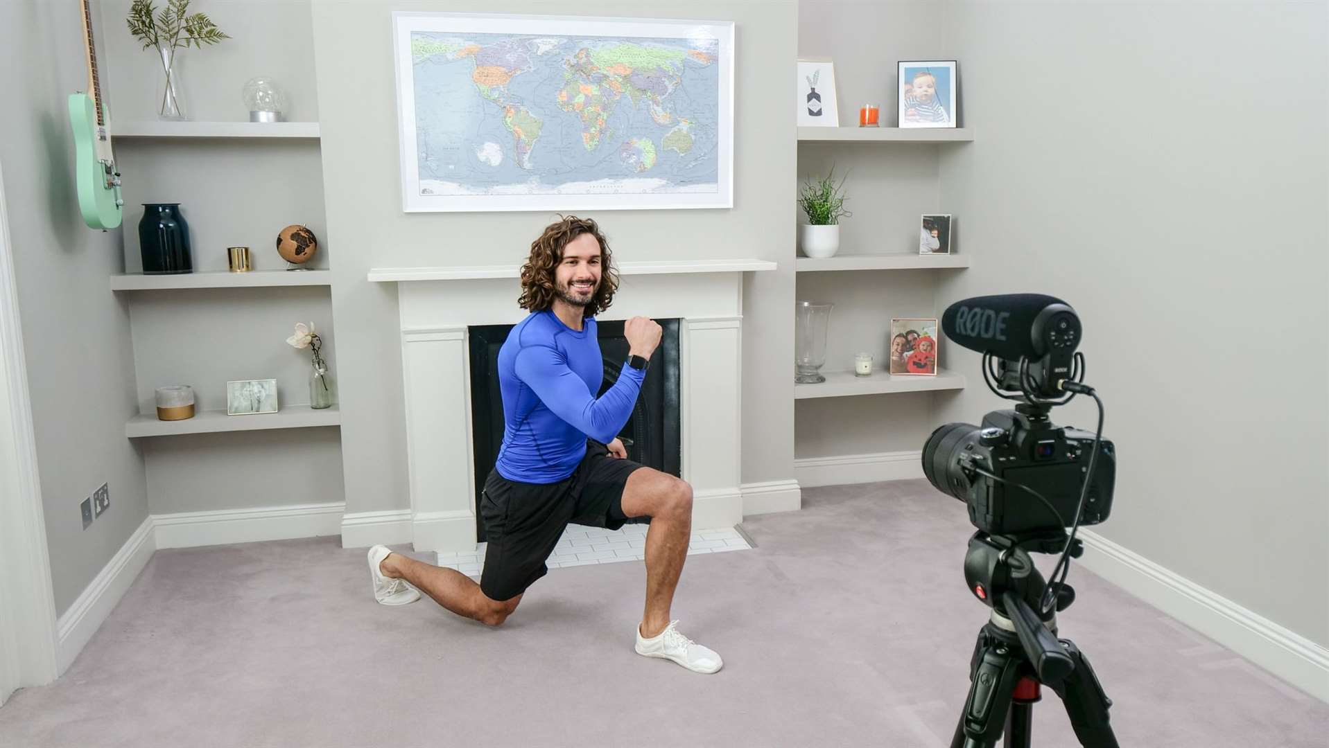 Joe Wicks has been filming classes from home for 13 weeks to help children in lockdown stay active