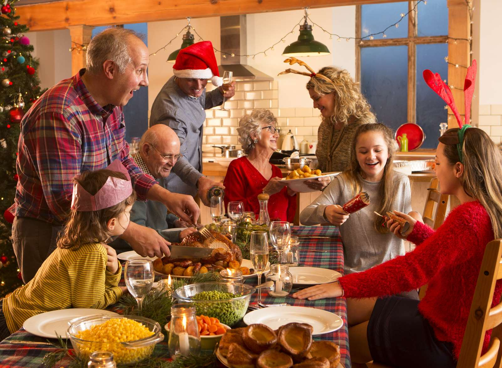 Would you ask for money from your guests for Christmas dinner?