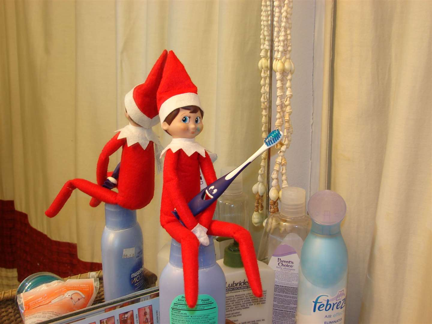 Be prepared for your elf to move around your home when you aren't looking!