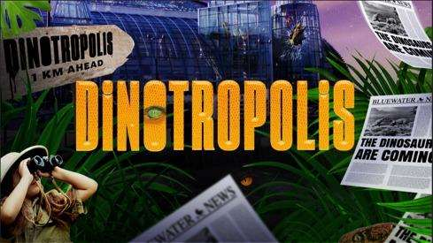 Dinotropolis opens in Bluewater on November 12
