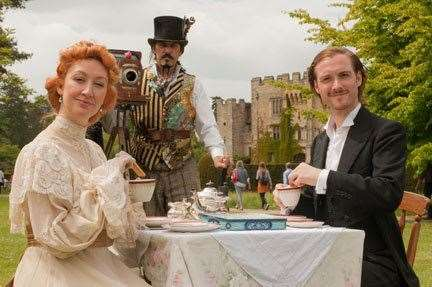 Edwardian Life at Hever Castle