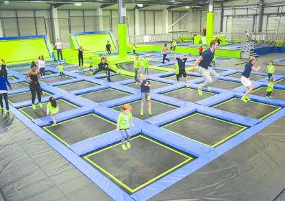 Jump In is offering visitors the chance to win an exclusive session for 100 of their family and friends