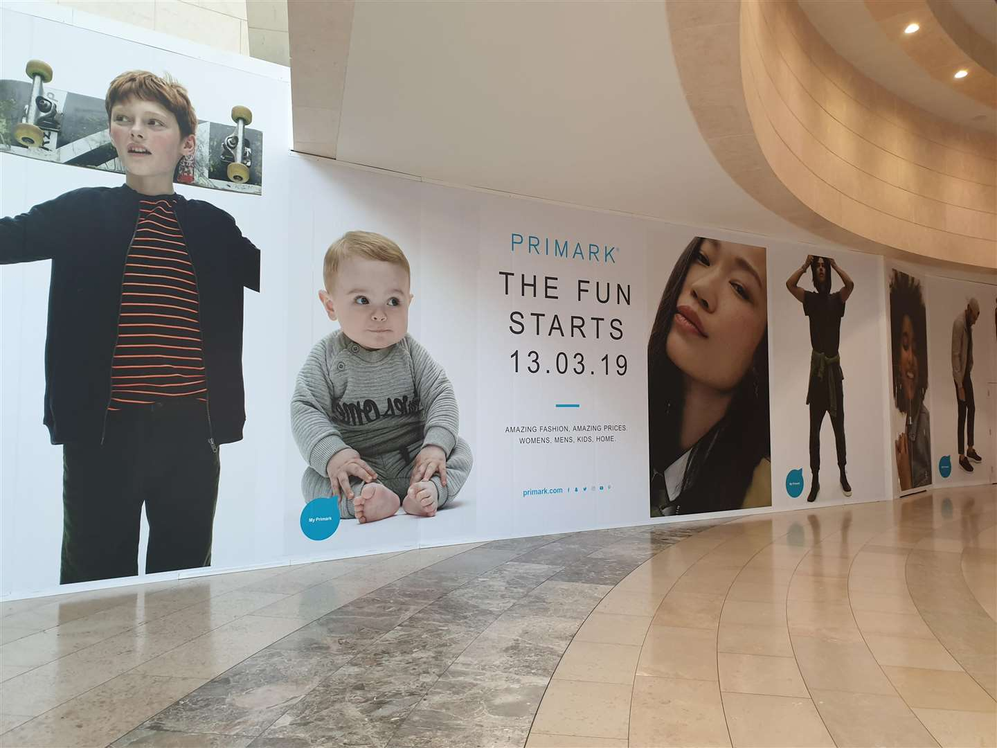 Primark is set to open in Bluewater on Wednesday, March 13
