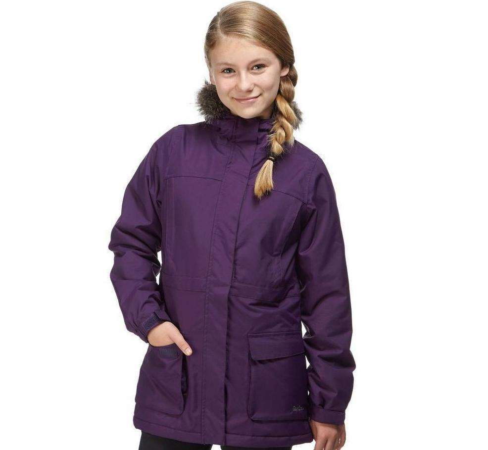 Available for £24, the Peter Storm Girls' Penelope Waterproof Parka Outdoor Clothing is on sale at 40% off.