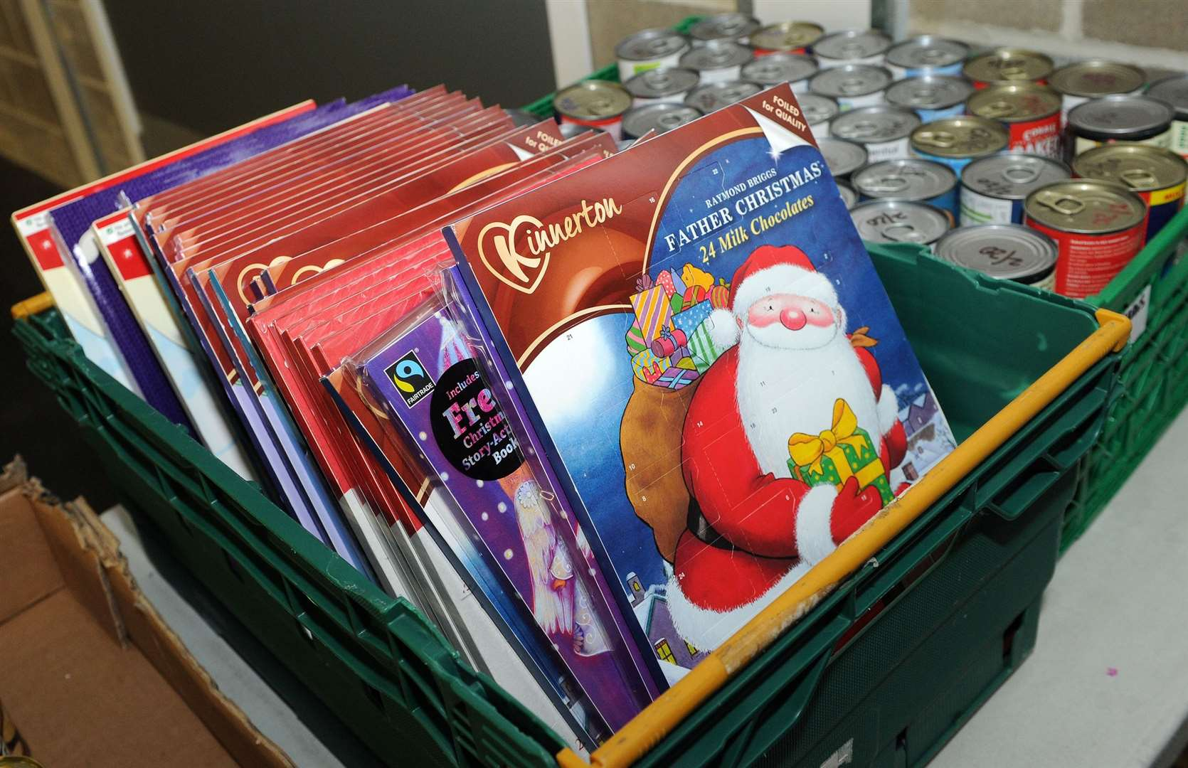 Could your elf encourage the family to donate unwanted toys to charity or advent calendars and food to your nearest foodbank?