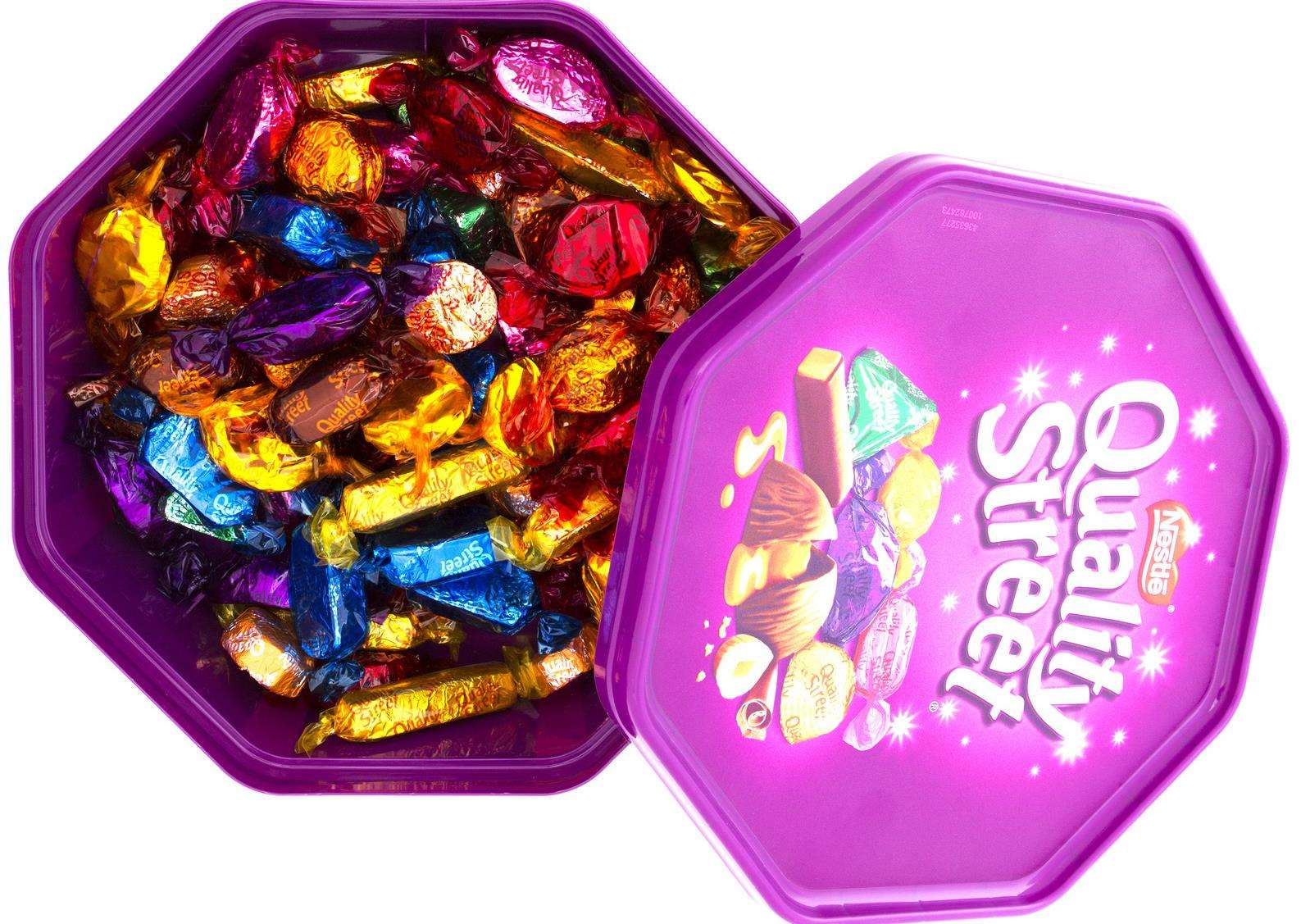 Choose your own Quality Street favourites this Christmas at John Lewis