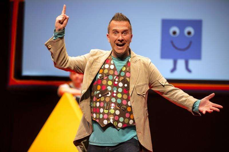 Mister Maker is taking the shapes to Camp Bestival
