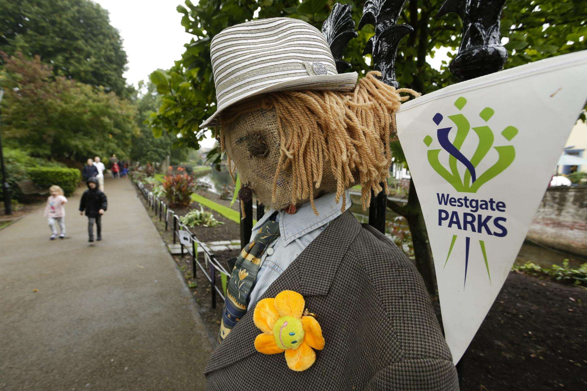 The Westgate Parks Scarecrow Trail is a popular event and brings hundreds to the park