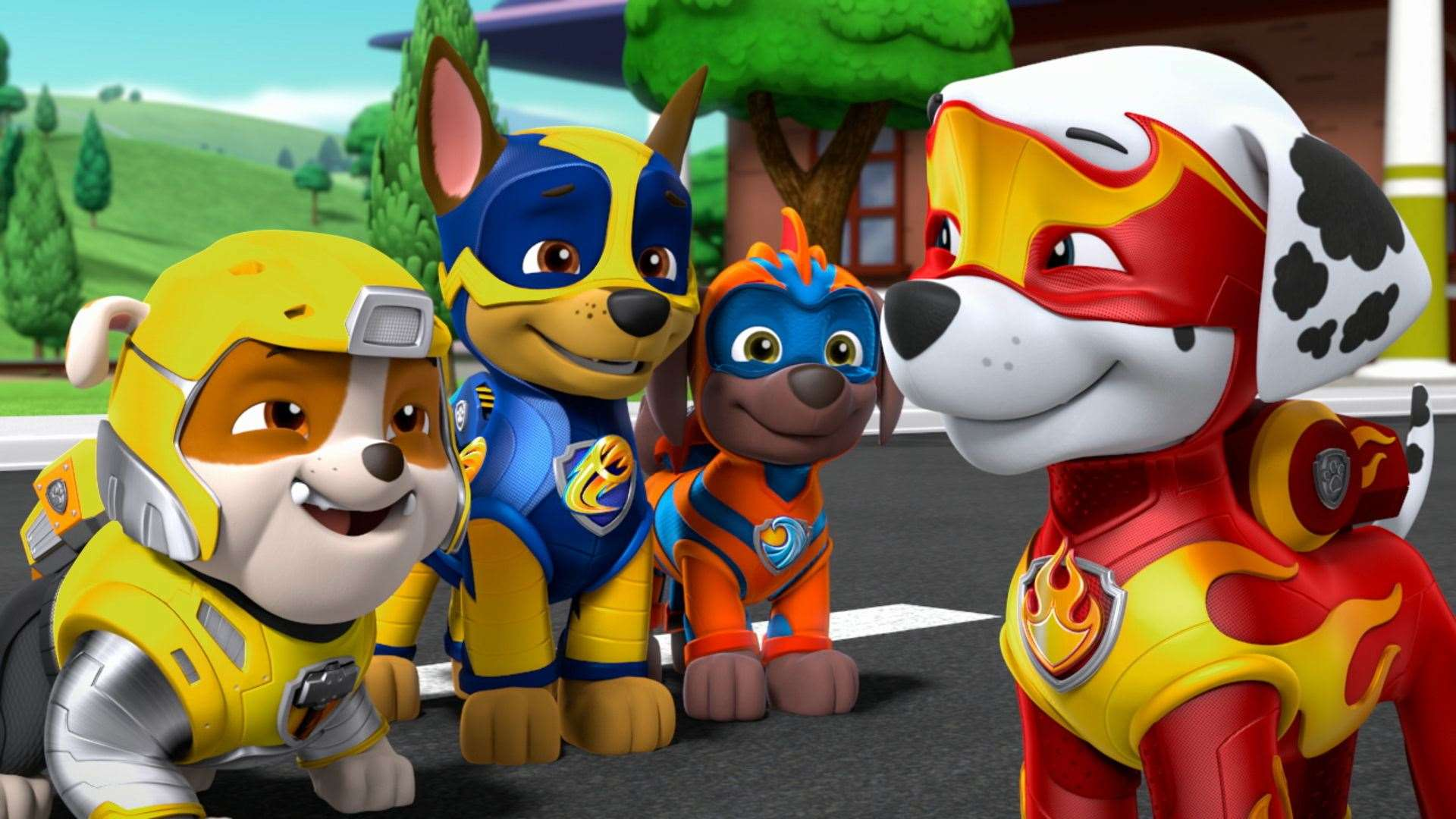 Paw Patrol: Mighty Pups.