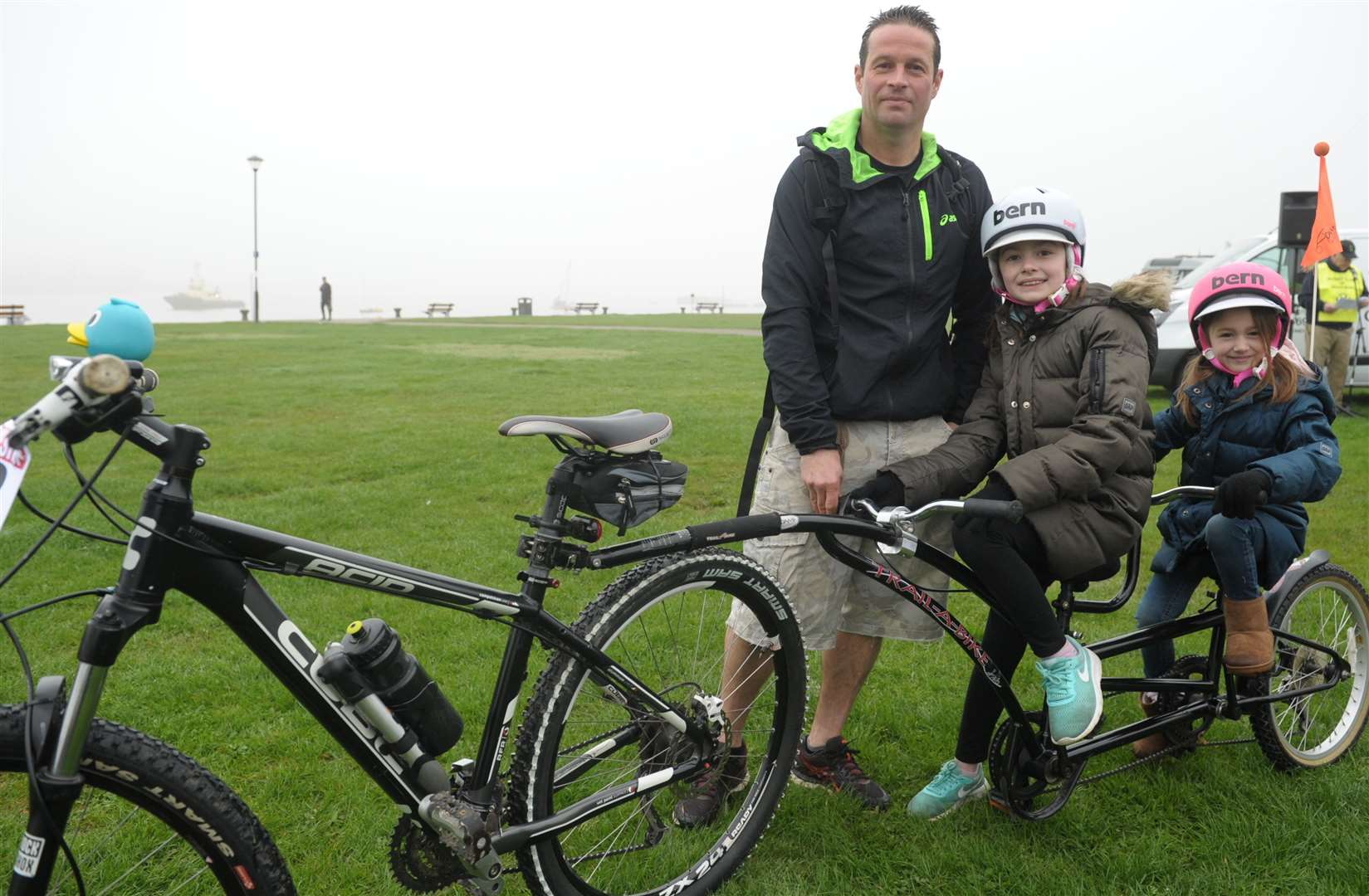 Families at last year's On Your Bike event