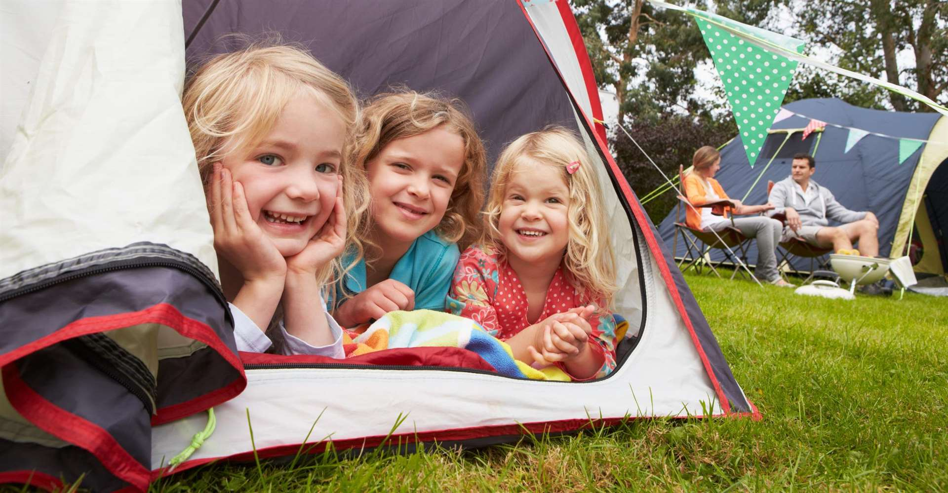With half term just around the corner, now could be the best time to go camping.