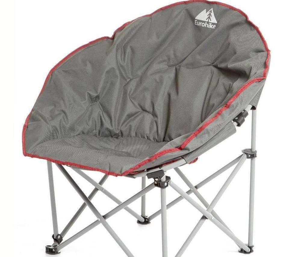 This Eurohike Deluxe Moon Chair is available at 54% off.