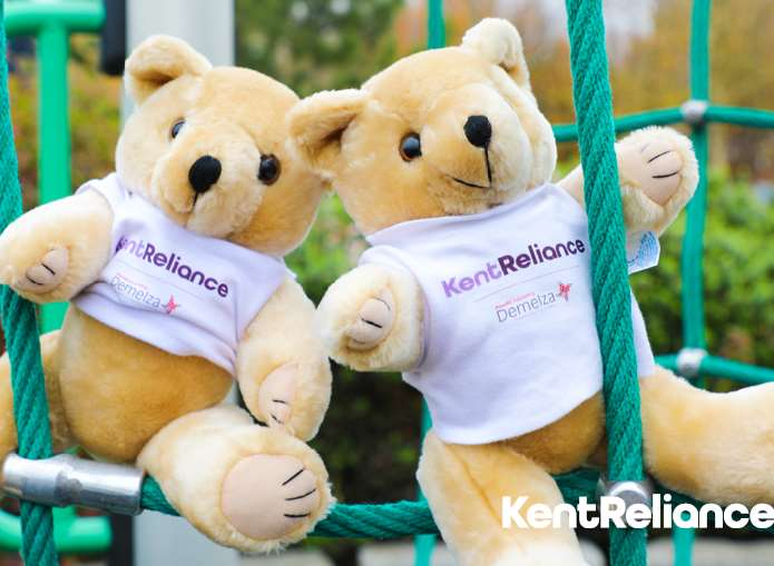 Kent Reliance is raising money for Demelza through its new children's savings account