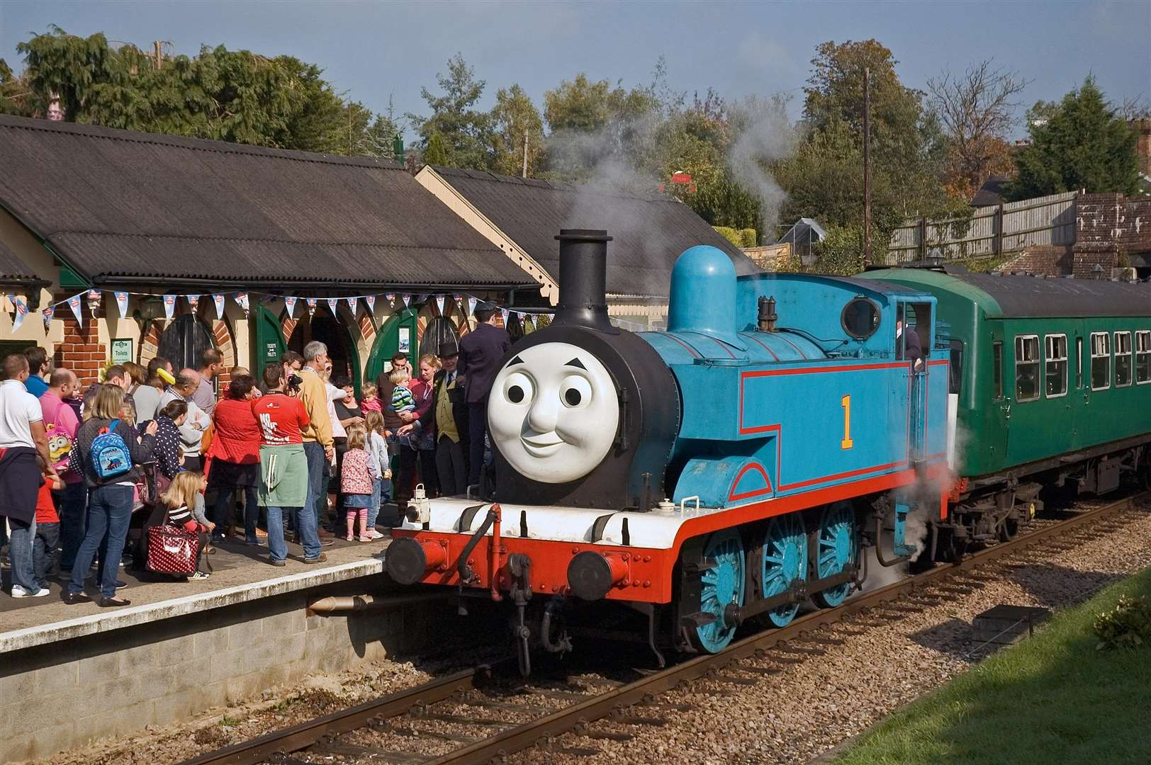 Families are advised to book their tickets in advance for the Thomas event days