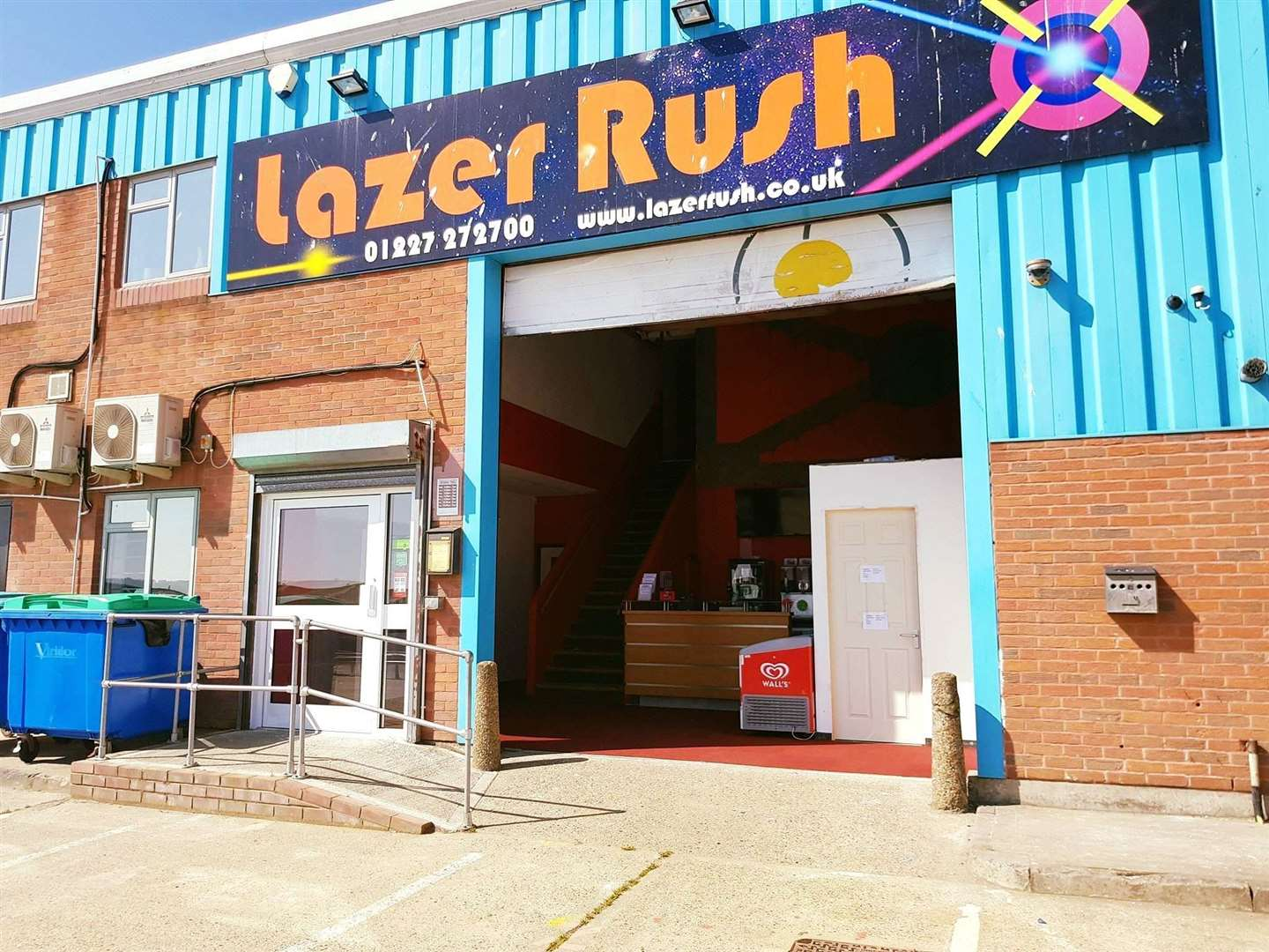 Laser Rush can be found in Whitstable