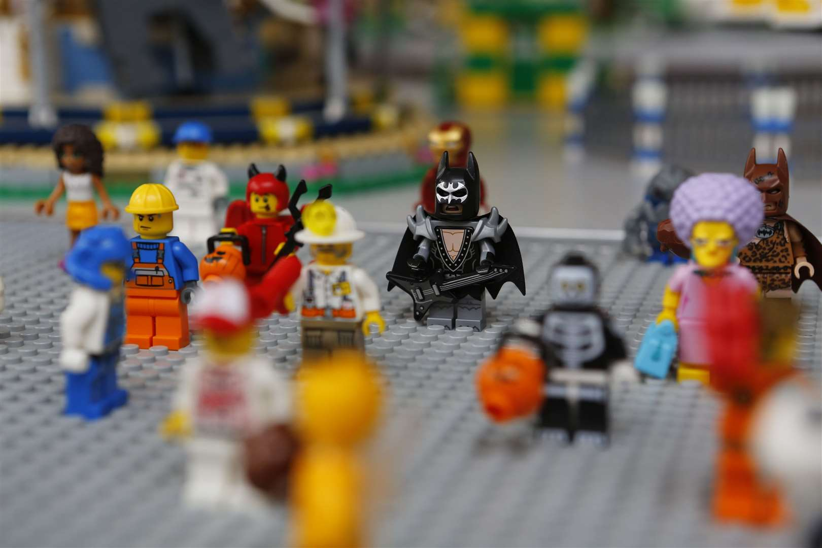 Set the kids a LEGO challenge - there's lots online to choose from