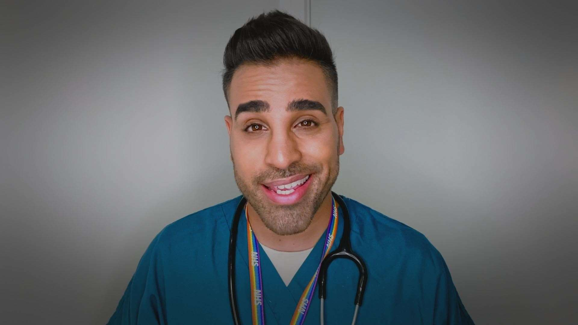 Medway-born Dr Ranj is currently working at a hospital in London