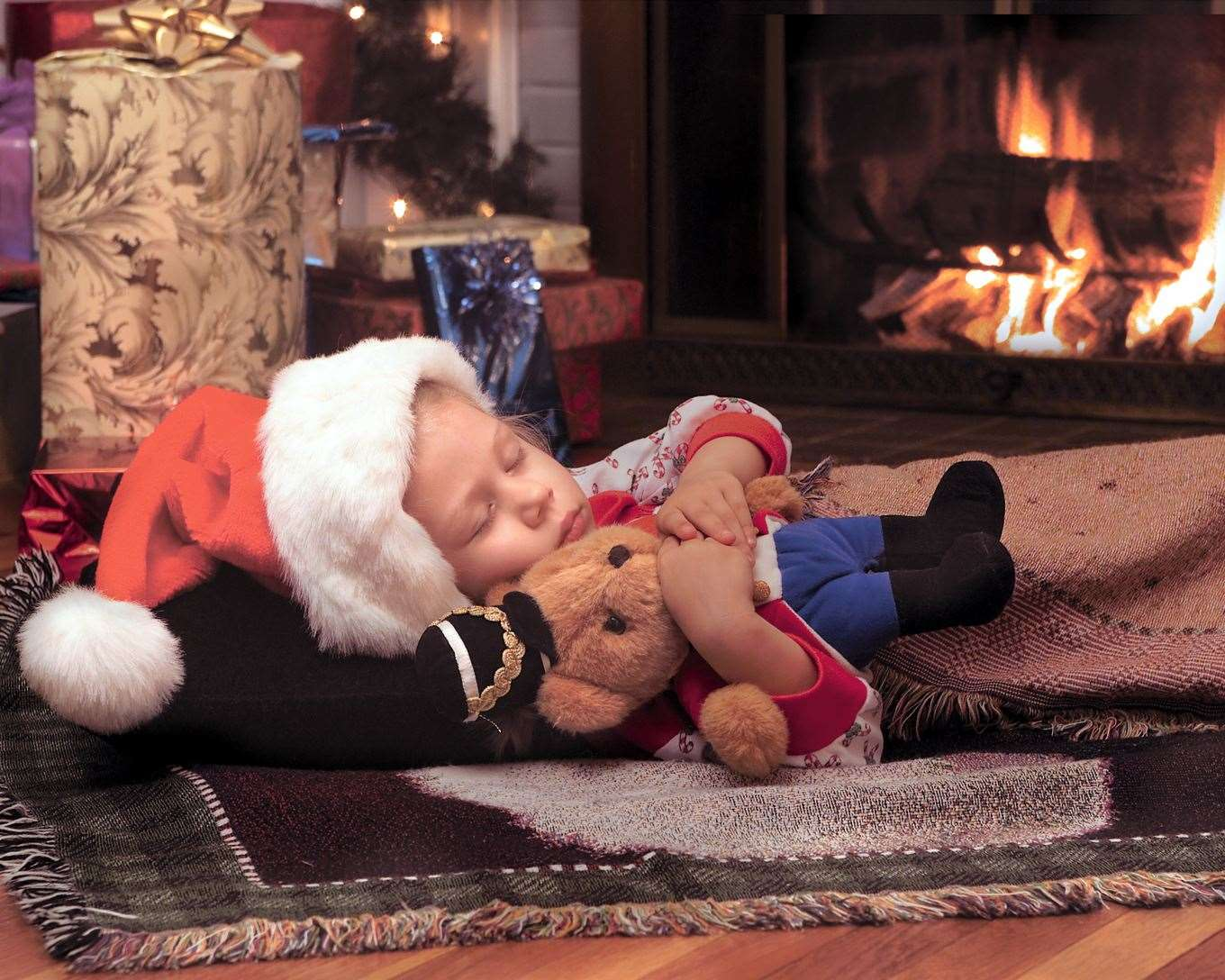 Try to avoid daytime naps on Christmas Eve
