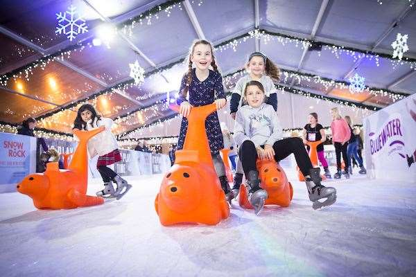 Tickets for the Bluewater ice rink are now on sale